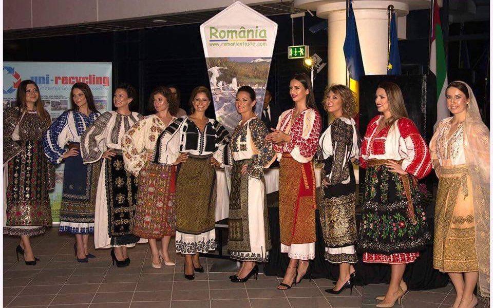 Ie traditionala romaneasca la Dubai