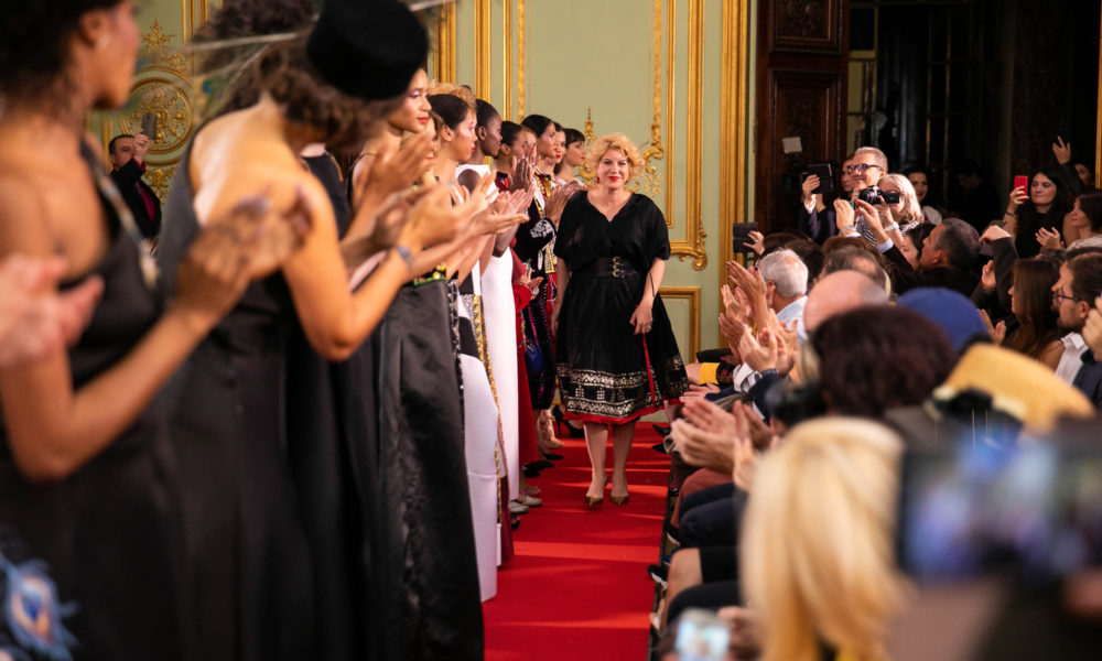 Flori de ie's fashion show @ Paris Fashion Weeek Ambasada României în Franța, Septembrie 2018