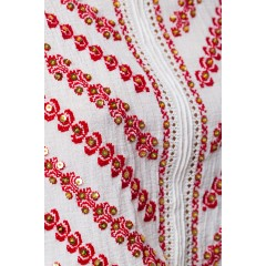 The Gate of The Kiss Traditional Blouse with sequins