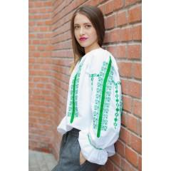 Ie  românească Adele - Verde