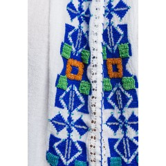 Ie tradițional românească Mărgelată - Albastru