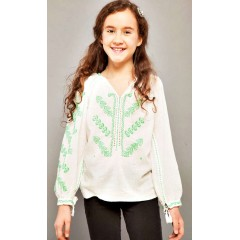 Romanian Blouse for little girls - The gate of kiss