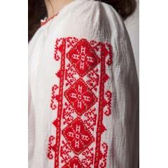 Romanian Blouse for little girls - Red Clover