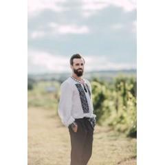 Royal romanian blouse for Men