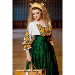 Ie românească - Floare de camelie
