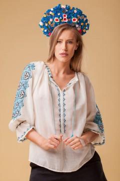 Ie Românească Fata Craiului - Albastru
