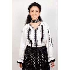 Ie românească Adele - Negru de la www.florideie.ro