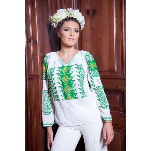 Ie românească Romb - Verde