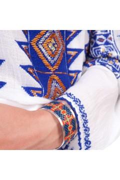 Ie românească Romb - Albastru