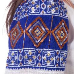 Ie românească Romb - Albastru de la www.florideie.ro