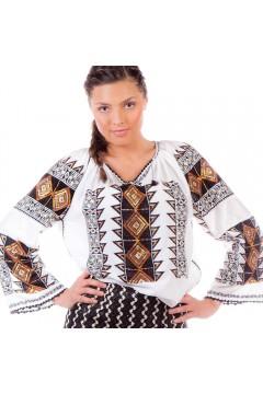 Ie românească Romb - Negru