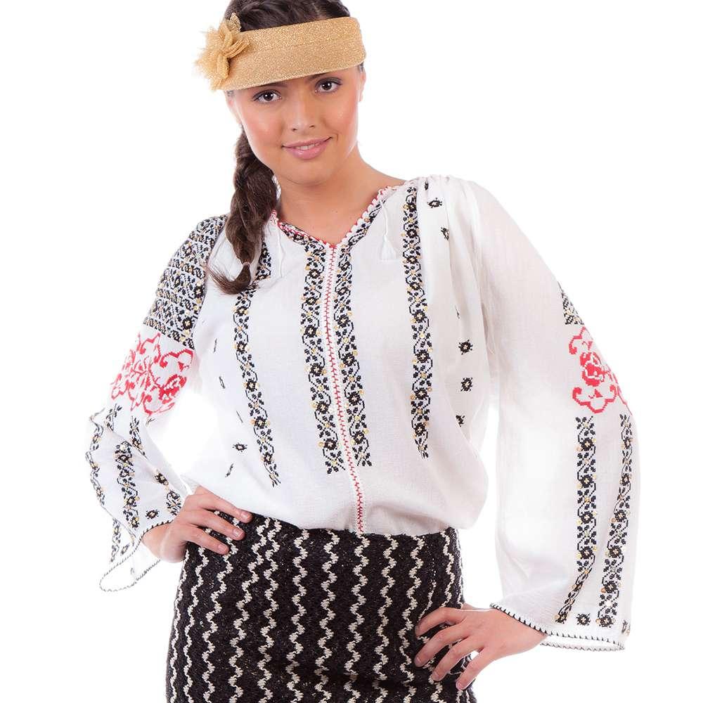 Ie românească Trandafir cu paiete