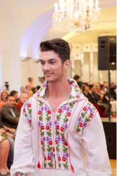 Flourished Romanian Blouse - Men