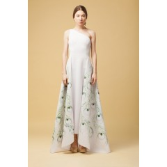 Rochie păun verde
