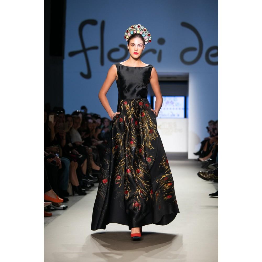 Rochie vis de păun de la www.florideie.ro