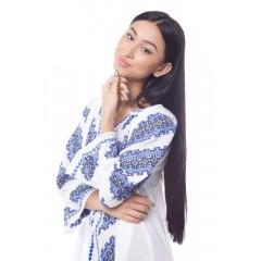 Rochie Gorjenească - Albastru de la www.florideie.ro
