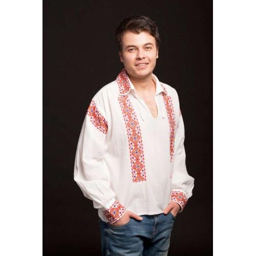 Cămașă traditională Românească tricolor